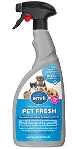 Envii Pet Fresh – Elimina Perro Manchas y Olores, Quitamanchas & Neutralizador con Enzimas, para Cualquier Accidente de su Perro o Gato – 750ml