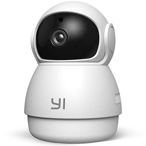 Yi Cámara de Vigilancia 1080p Dome Guard Camara IP Sistema de Seguridad WiFi de Interior Full HD,...