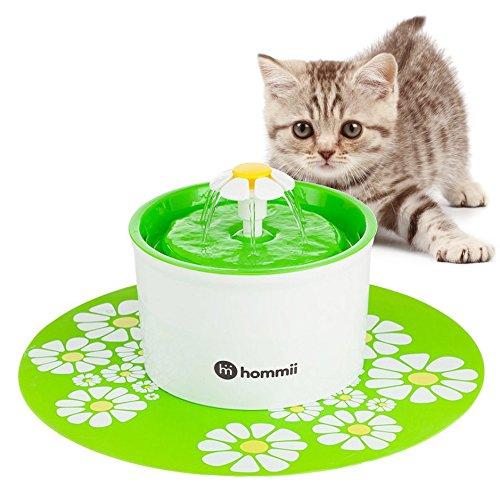 Fuente de agua silenciosa Hommii 1,6 L
