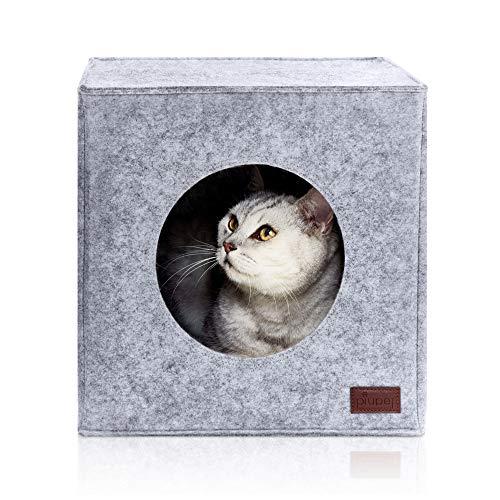 Casa de gato para estanterías IKEA